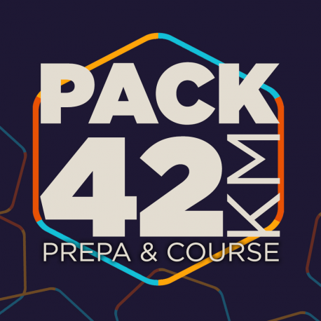 PACK 42 PREPARATION ET COURSE MARATHON
